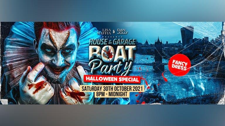 UK Garage Halloween Boat Party