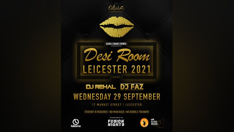 Desi Room - Freshers Leicester