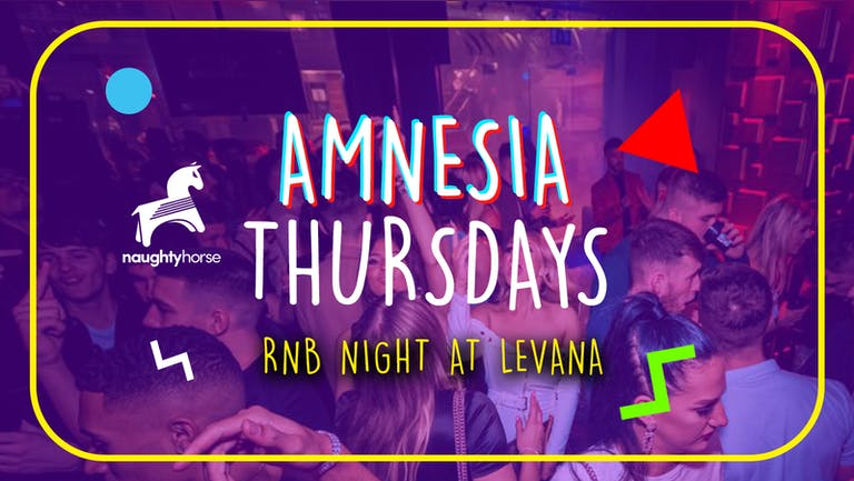 Amnesia Thursdays - FREE ENTRY + FREE J-BOMB