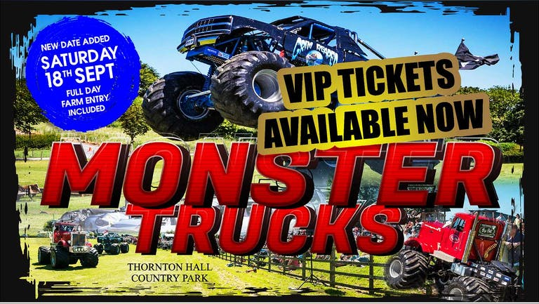 Monster Trucks - Saturday 18th September 2021