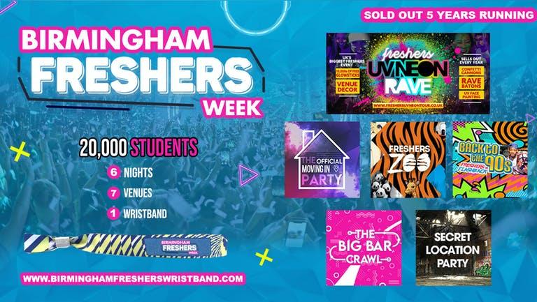 Birmingham Freshers Week Wristband 2021