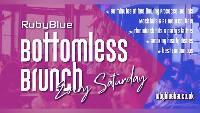 Bottomless Brunch at Ruby Blue