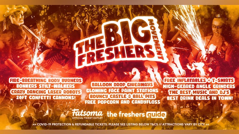 OFFICIAL University of Gloucestershire Welcome Party 2021 - The Big Freshers Movement Gloucestershire 2021 🎉