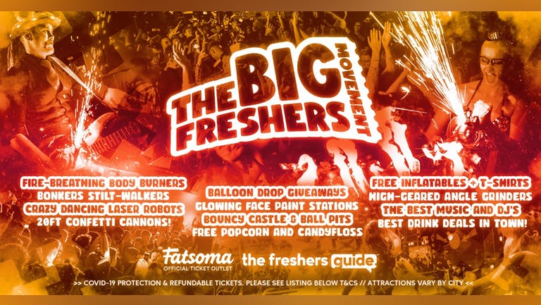 The Big Freshers Movement Northampton 2021 🎉