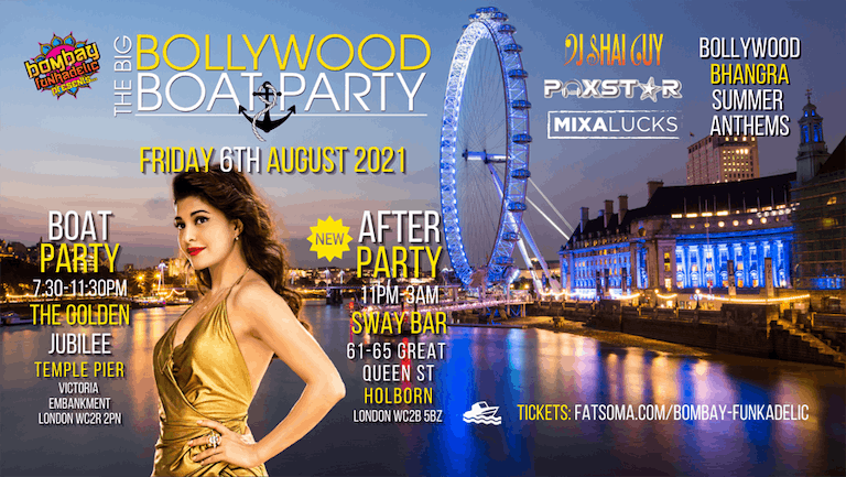 The Big Bollywood Boat Party