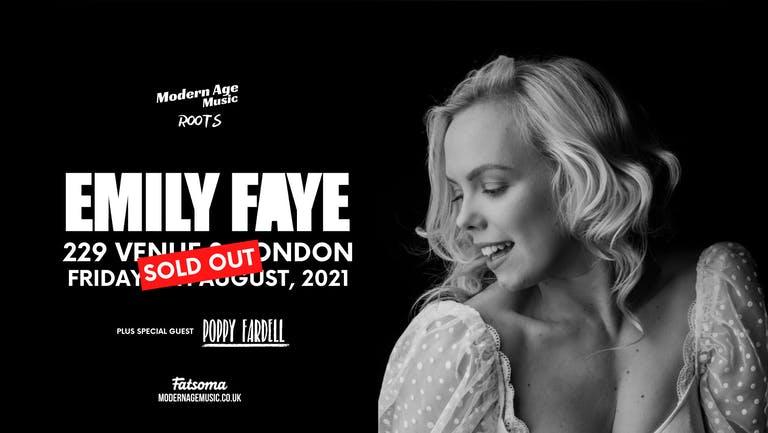 Emily Faye live at 229, London