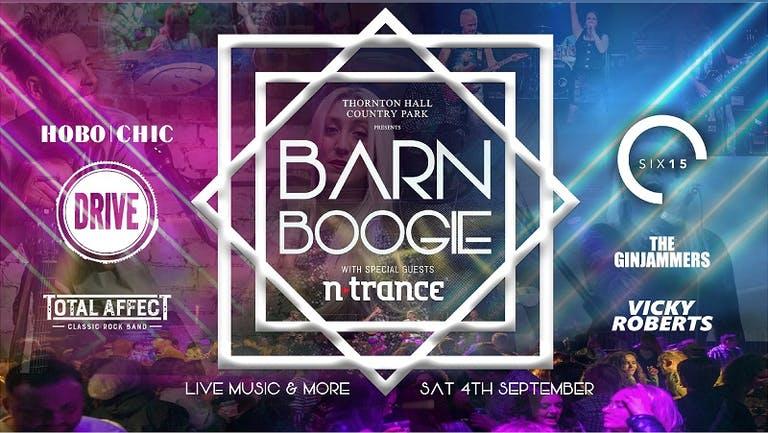 TONIGHT - Barn Boogie - Saturday 4th September 2021
