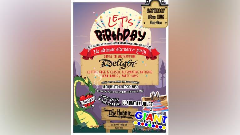 Delight: Southampton - Let's birthday party!