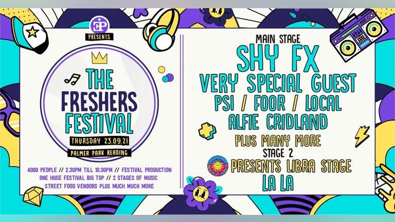 The Freshers Festival - Shy FX Headlining