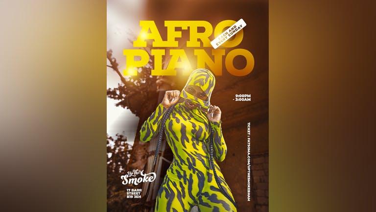 AFRO PIANO LIFESTYLE SUNDAY VIBES