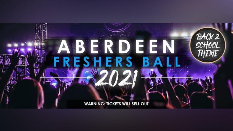 The Aberdeen Freshers Ball 2021