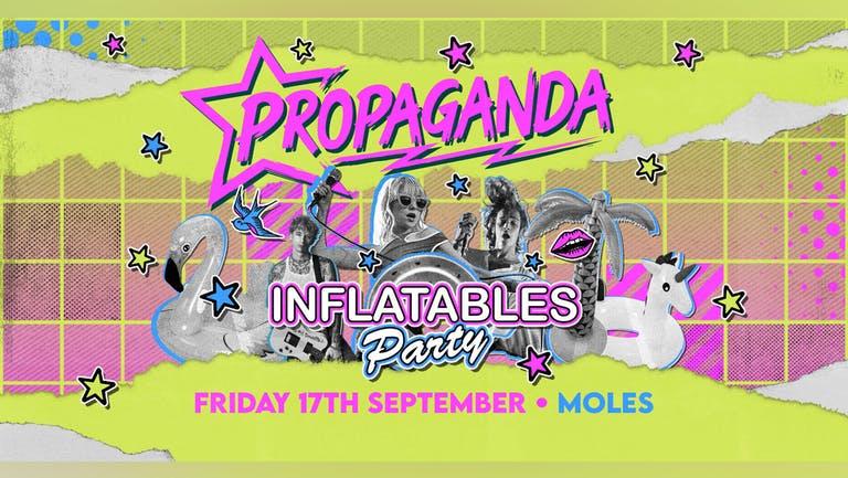 Propaganda Bath - Inflatables Party!