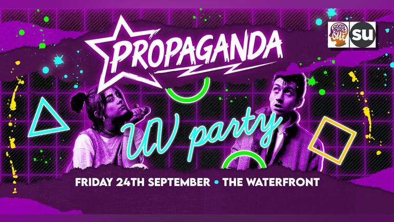 Propaganda Norwich - UV Party!