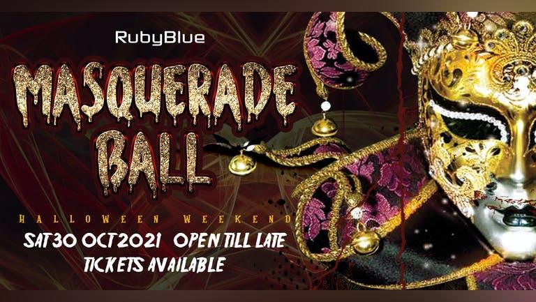 MASQUERADE BALL | Halloween Saturday