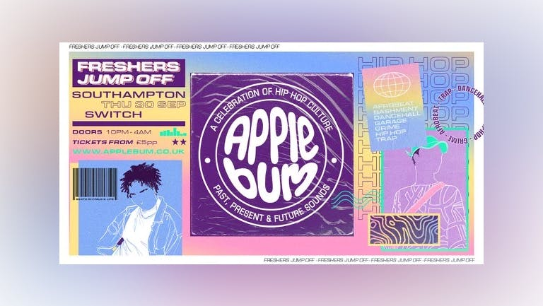 Applebum / Southampton / Freshers Jump Off