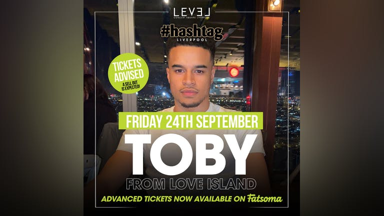 Freshers Friday with Toby Love Island
