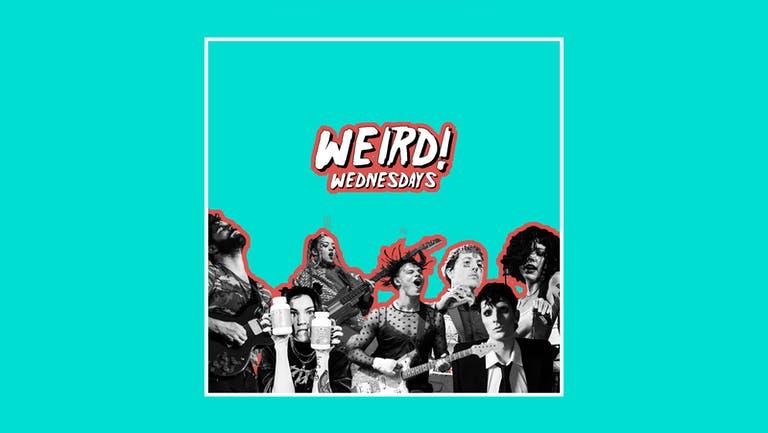 WEIRD! Wednesdays - Alternative Freshers - 15th September 2021