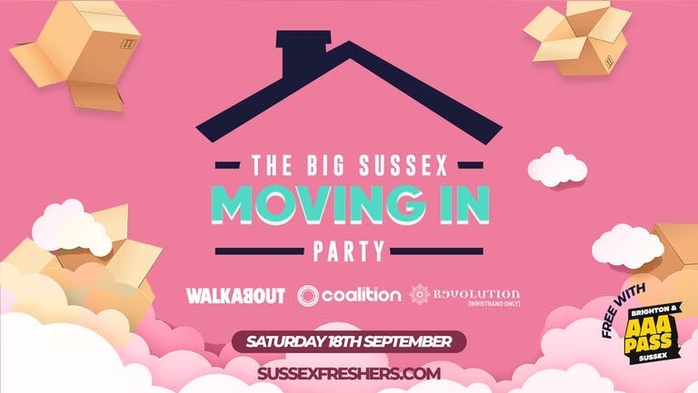 The Big Sussex Moving In Party