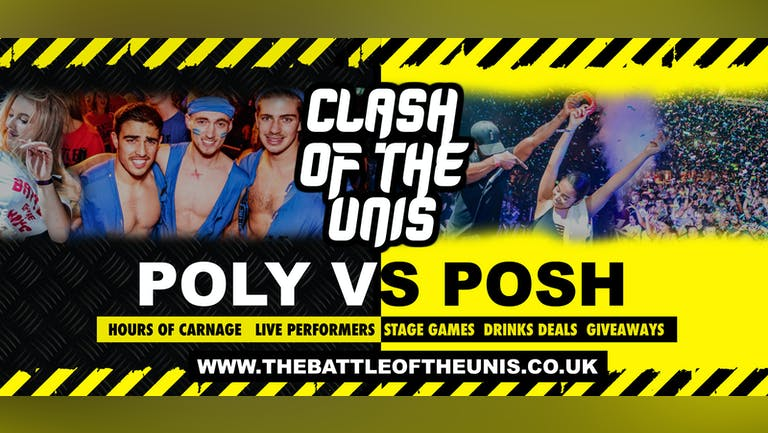 MANCHESTER CLASH OF THE UNIS AT GORILLA 11PM - MANCHESTER FRESHERS 2021