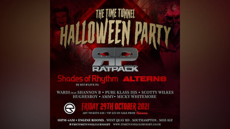 Time Tunnel 12 year anniversary Halloween party