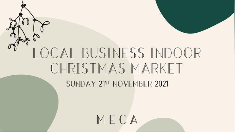 Local Business Indoor Christmas Market