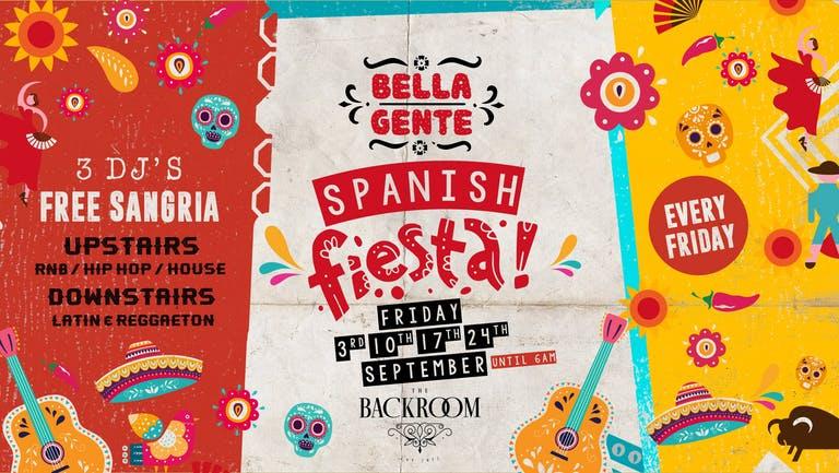 Bella Gente - Spanish Fiesta - Friday 17th September - Vol. 3