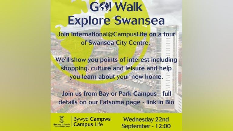 GO! Walk: Explore Swansea