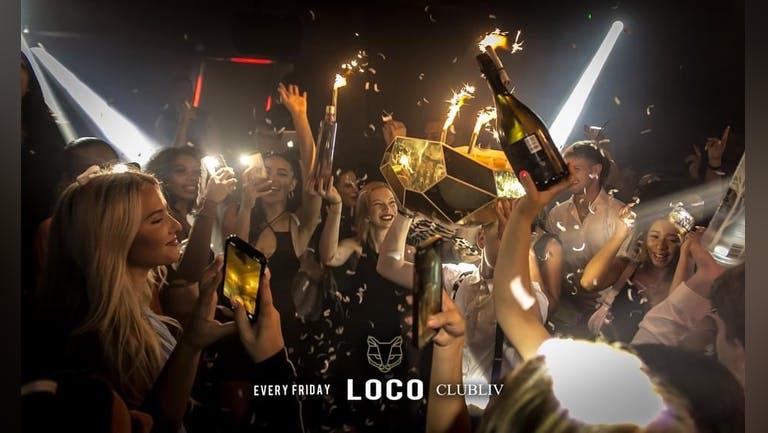 LOCO Fridays Presents:  Freshers Round 1 Friday 17th September