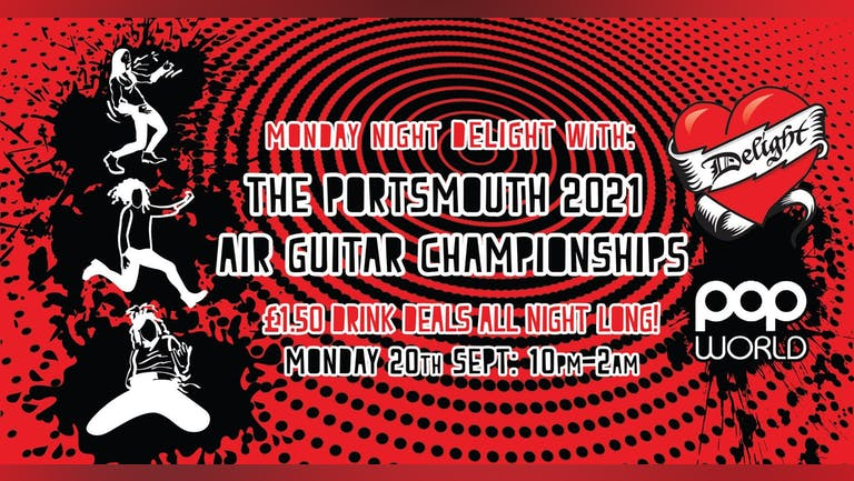 Delight: with Air Guitar championships