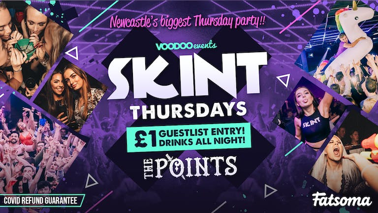 Skint - SOLD OUT!! Limited paying spaces available on the door after 11.30pm