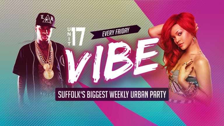 Vibe Ipswich - Friday 17th September 2021