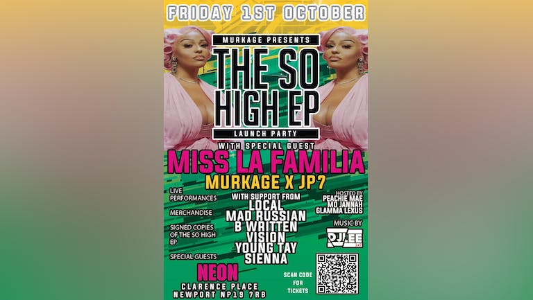 The So High EP Launch Party