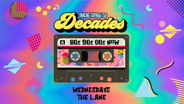 DECADES | FRESHERS WELCOME DISCO | THE LANE | 16th SEPTEMBER
