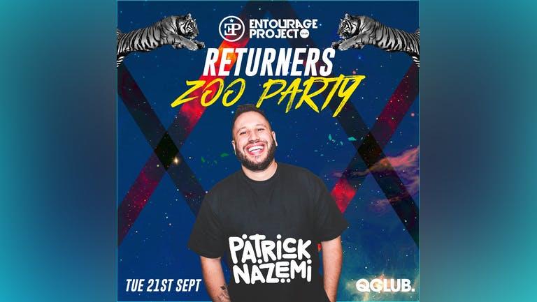 Returners Zoo Party - Patrick Nazemi