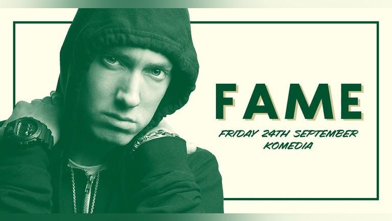 Fame / Pop, Disco & Cheese / 24.09.2021