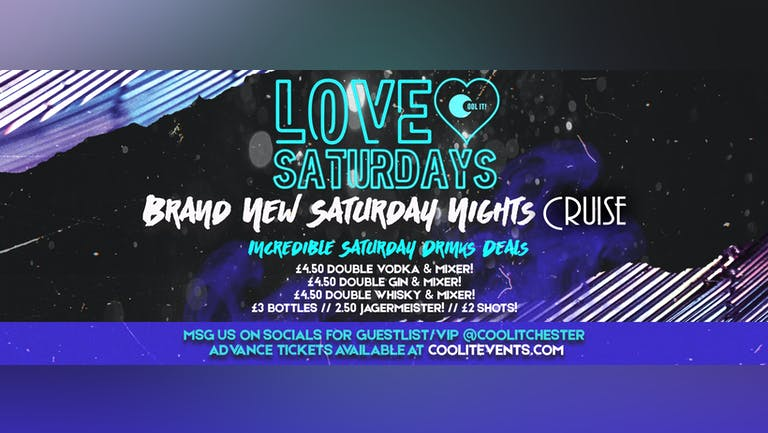 LOVE Saturdays - Opening Party