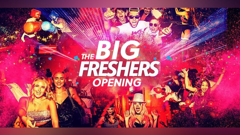 THE BIG FRESHERS OPENING PARTY | OFFICIAL Manchester Freshers - UOM Freshers | Salford Freshers