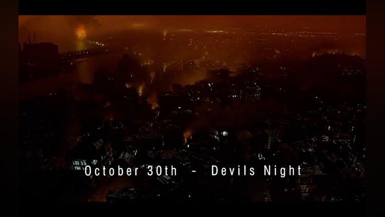 Delight - Southampton Halloween: Devil's Night