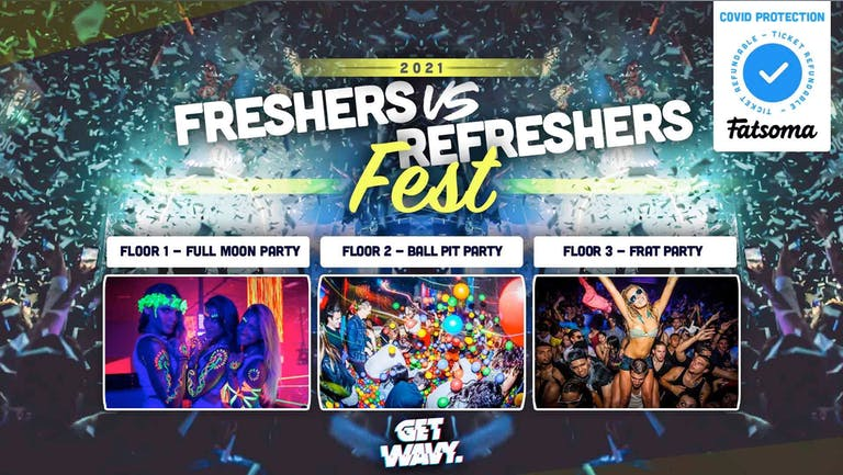 Birmingham Freshers VS Refreshers Fest | Walkabout Birmingham