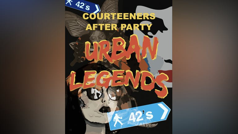 Urban Legends - Courteeners After Party
