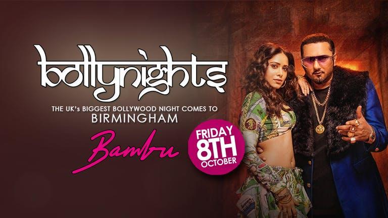 Bollynights Birmingham - Friday 8th October