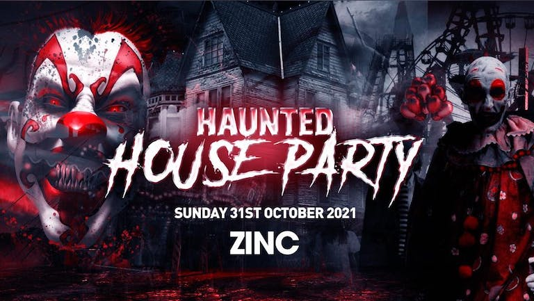 The Haunted House Party | Exeter Halloween 2021 - First 100 Tickets ONLY £3!