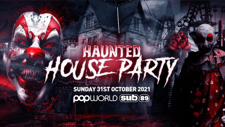 The Haunted House Party | Reading Halloween 2021 - First 100 Tickets ONLY £3!