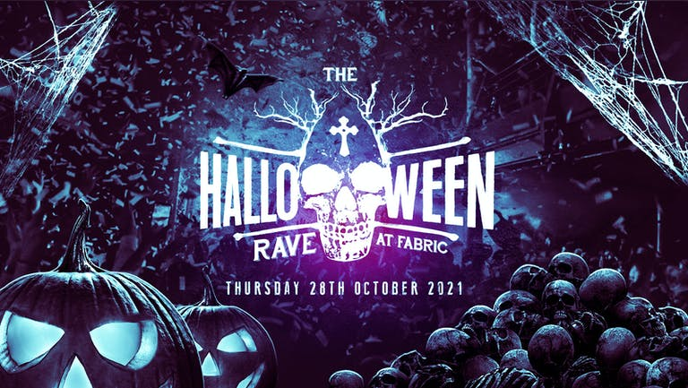 ⚠️FINAL 50 TICKETS⚠️ - The Halloween Rave at Fabric!