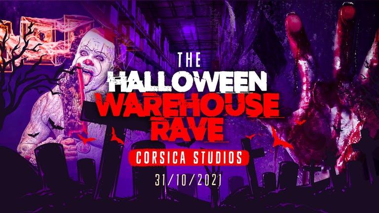 The Haunted Warehouse Rave @ Corsica Studios   London Halloween 2021