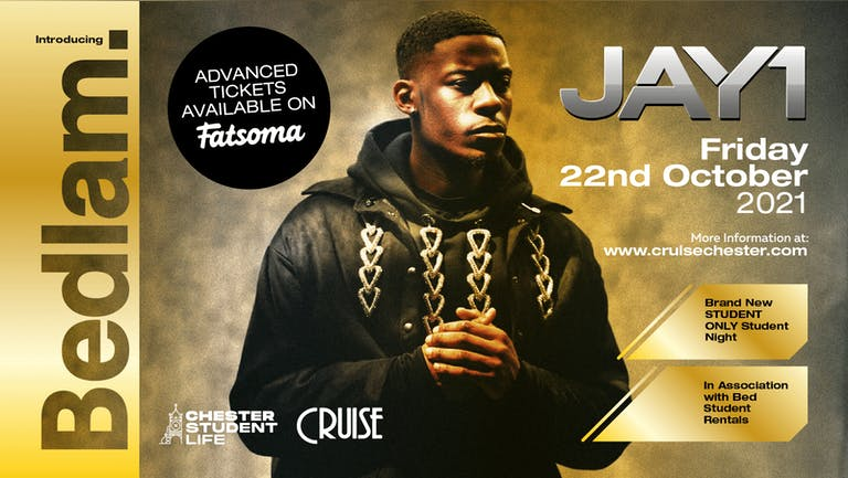 Bedlam @ Cruise Featuring Jay1 Live perfomance