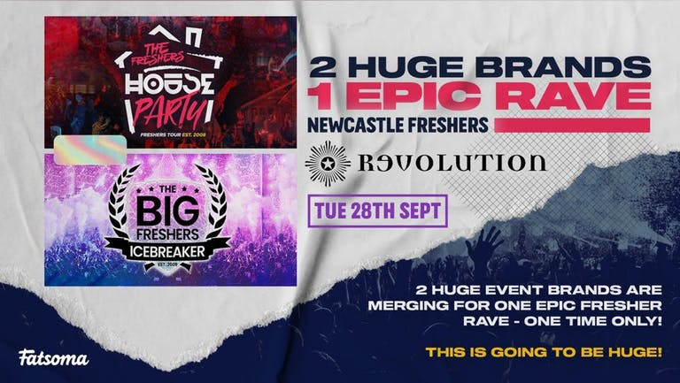 The Freshers House Party | Newcastle Freshers 2021 - First 100 Tickets £1!