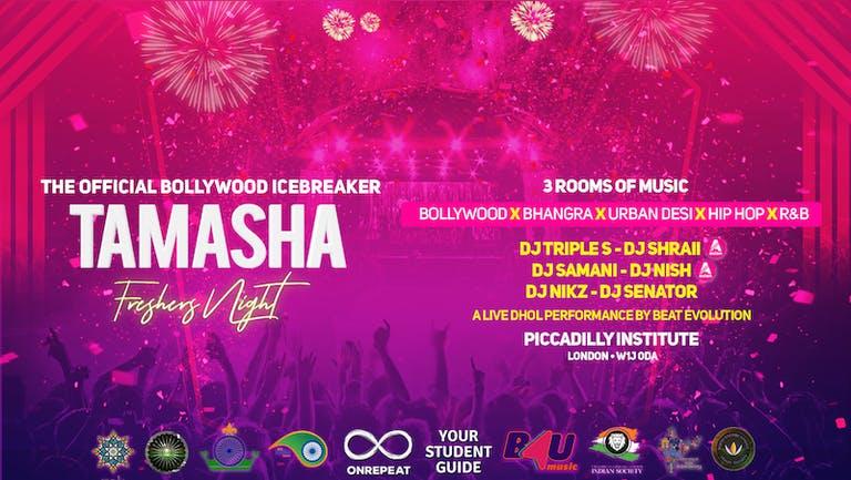 Tamasha Freshers Night 2021 - The Official Bollywood Icebreaker