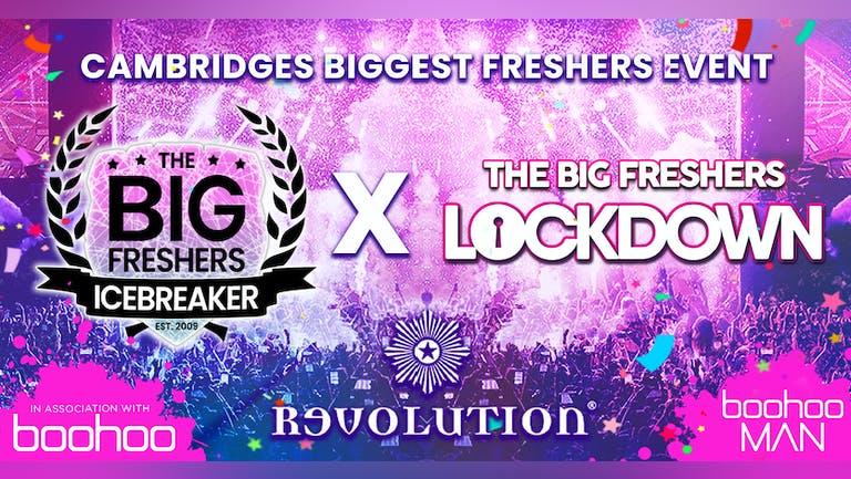 The Big Freshers Icebreaker X BOOHOO TAKE OVER - CAMBRIDGE