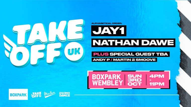 Take Off Freshers Festival - Ft JAY 1, NATHAN DAWE & MORE : TODAY!